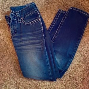 Wet seal skinny jeans size 0